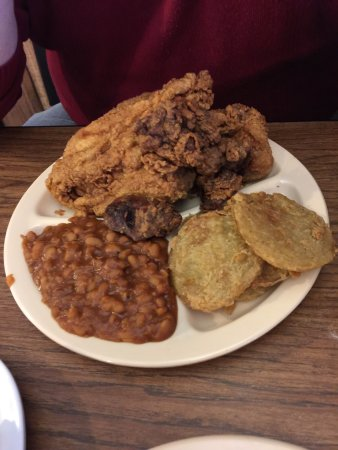 Anniston, AL: Fried green tomatoes