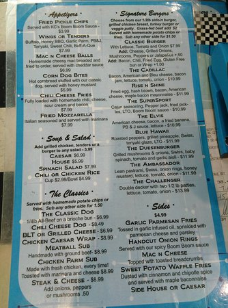 North Attleboro, MA: Adult menu