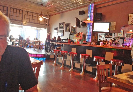 Blue Moon Bar & Grille: Funky cute interior