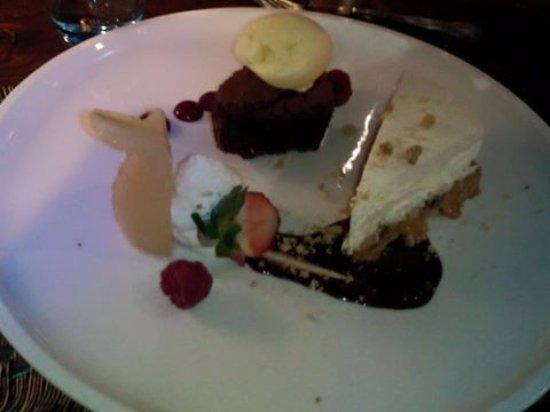 Newton on the Moor, UK: Extravaganza (Dessert)