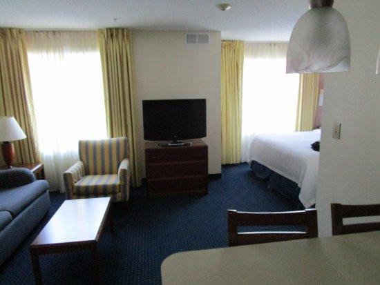 Residence Inn Wilmington Landfall: Efficiency suite