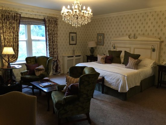 Newmarket-on-Fergus, İrlanda: Spacious and very comfortable room with view of the grounds.