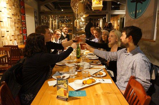 Guelph, Canada: Staff team meeting at Miijida Cafe