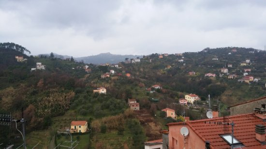 Arcola, Itália: Panorama dal borgo