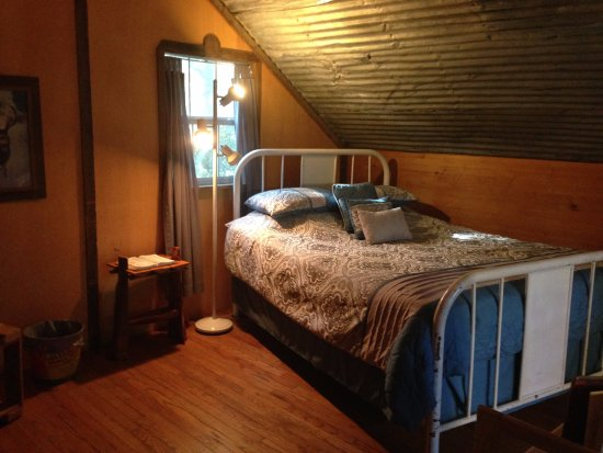Marble Falls, Техас: Firehouse loft bedroom