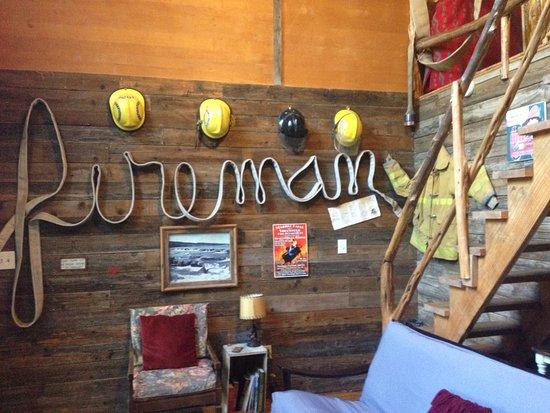 Marble Falls, TX: Firehouse living