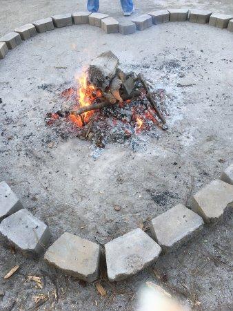 Little River, SC: Valentine's Bonfire