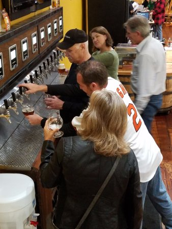 The Bucket Trade: Busy Self Serve taps!
