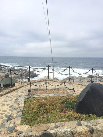 Casa de Isla Negra (Haus von Pablo Neruda): Vista do lado de fora da casa