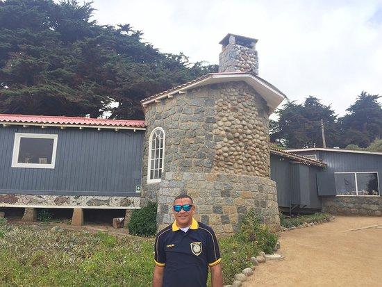 Casa de Isla Negra (Haus von Pablo Neruda): vista da casa