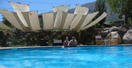 San Alfonso, Χιλή: Piscina del lodge