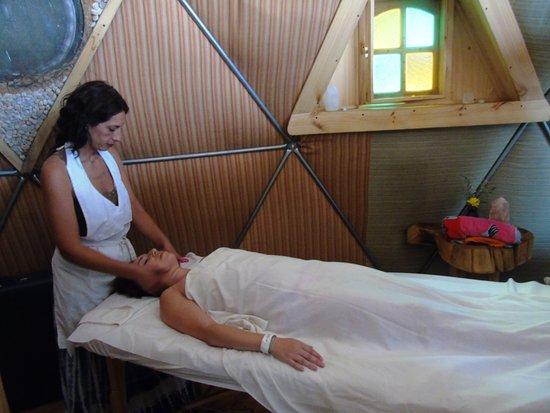 San Alfonso, Чили: masaje spa