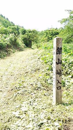 Karuizawa Ginzan Ruins: 旧銀山街道の峠入口