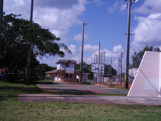 Davie, FL: Park area