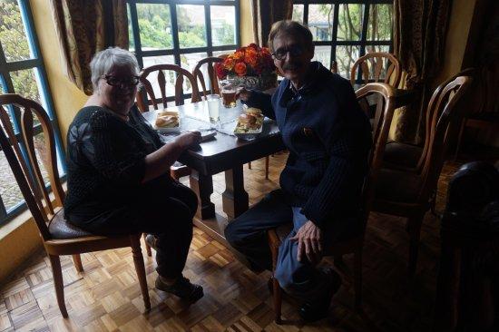 Hacienda Cusin: Sur notre demande, on nous a servi le luch au grand salon