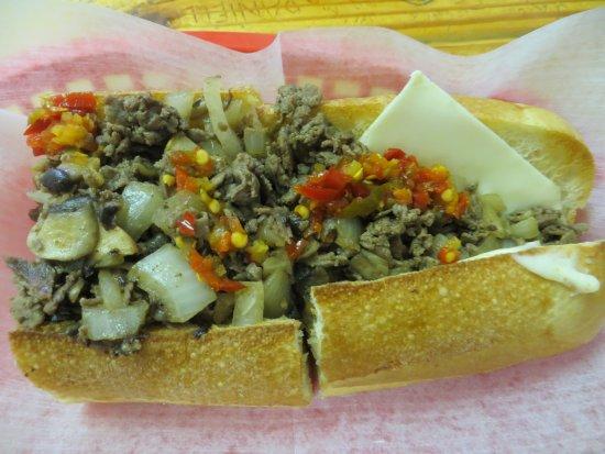 Round Rock, TX: philly cheese steak sub
