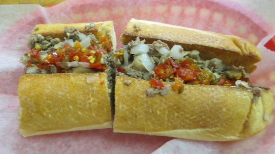 Round Rock, TX: philly cheese steak sub