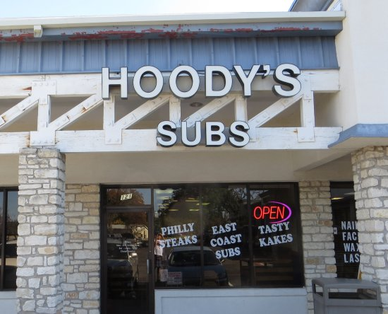 Hoody's Subs: storefront