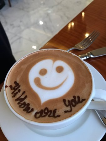 Hyatt Regency Delhi: The cafe at the Hyatt has amazing coffee and the service outstanding. Rajendra you are amazing.