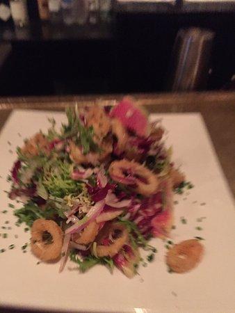 Waterbury Center, VT: fresh calamari!