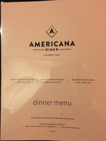 East Windsor, Нью-Джерси: Americana Diner