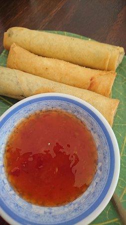 Indochina Thai Restaurant: spring rolls