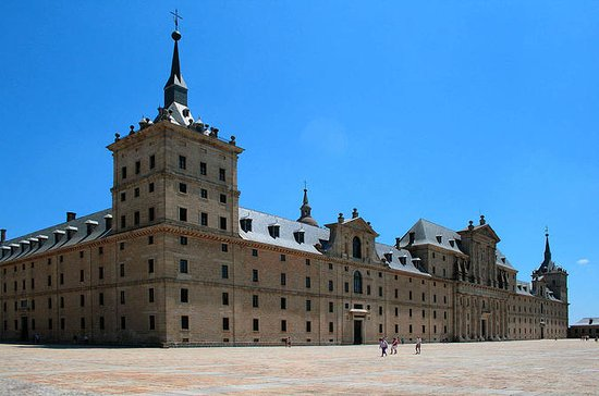 Tur fra Madrid til El Escorial og...