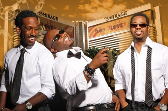 Boyz II menn på The Mirage Hotel and...