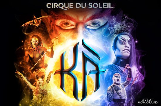 KÀ™ by Cirque du Soleil® at the MGM...