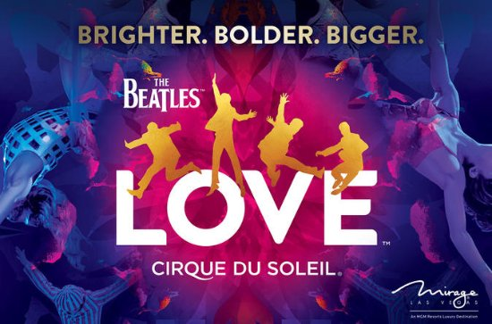 The Beatles LOVE by Cirque du Soleil...