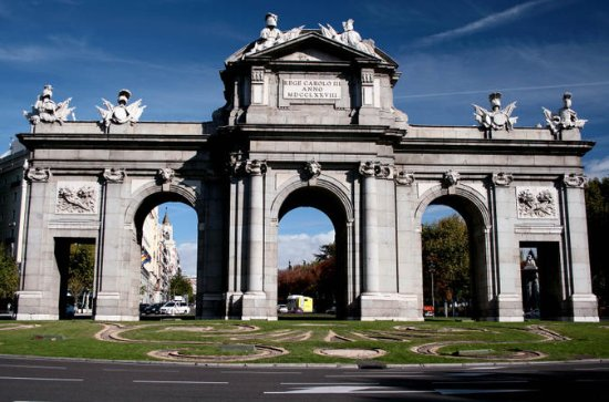 Madrid Sightseeing Bus Tour With...