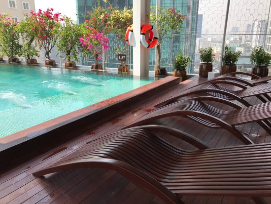 12th floor swimming pool area picture of the myst dong for Pool area flooring