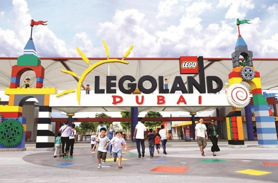 Legoland Dubai: 1-Day Ticket with...