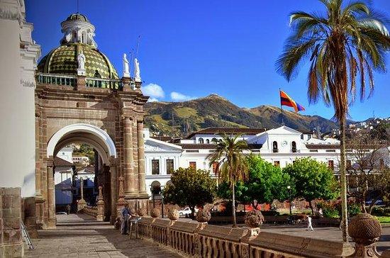 Tour por la ciudad de Quito y termas...