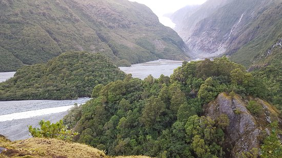 Franz Josef, Νέα Ζηλανδία: lovely trek through the wilderness