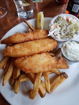 McMenamins Hotel Oregon Pub: Fish & Chips