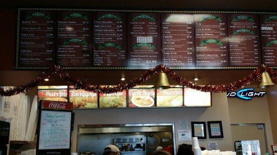 Tracy, CA: Taqueria La Mexicana