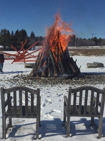 Bethel, NY: Bonfires on the Field All Seasons