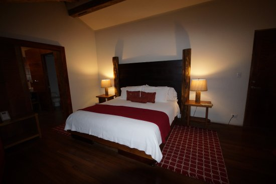 Poas Lodge and Restaurant: la chambre