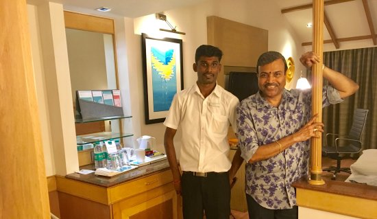 Maradu, Hindistan: With Rajesh
