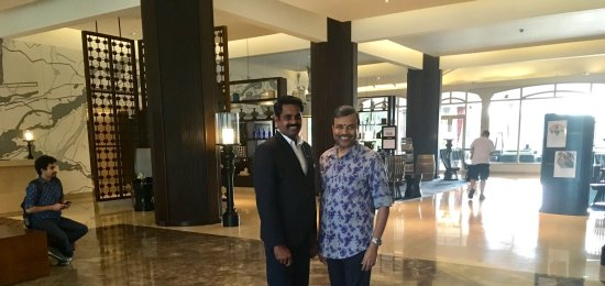 Maradu, Hindistan: With Suresh