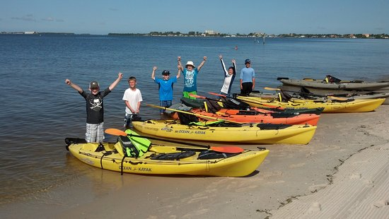 Matlacha, FL: Kids love our kayaking adventures and training.