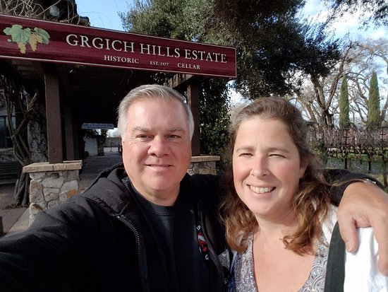 Rutherford, CA: We LOVE Grgich Hills Winery!
