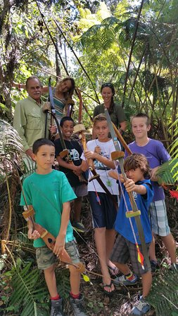 Holualoa, Havai: Archery is a awesome way spend time with your friends and learn or hone a old skill