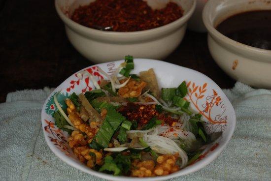 Sangkhla Buri, Thailandia: ขนมจีนมอญ