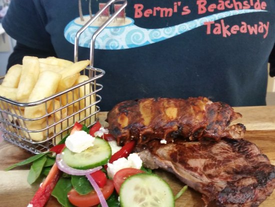 Bermagui, Australia: Slow cooked BBQ Pork Ribs