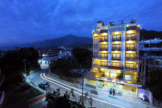 Window View - Picture of Hotel Queens Park, Pokhara - Tripadvisor