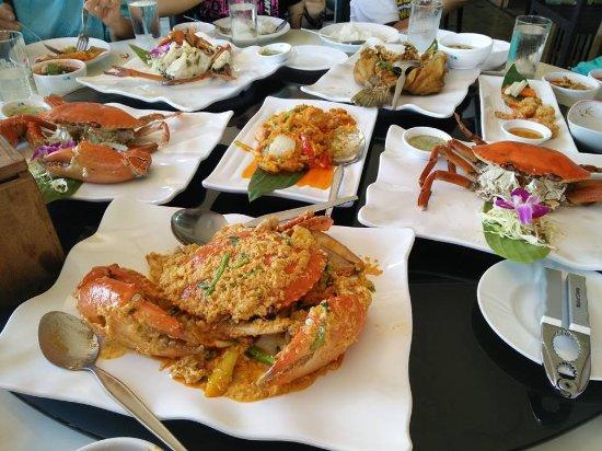 Rabieng Ta Le: อาหาร