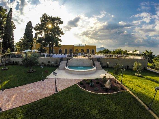 Tocco da Casauria, Italia: Buffet bordopiscina