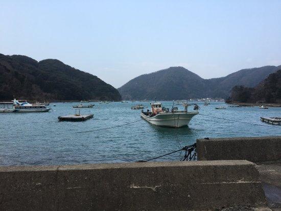 Wakasa-cho, Giappone: 冬の嵐の後にドライブで訪れました。